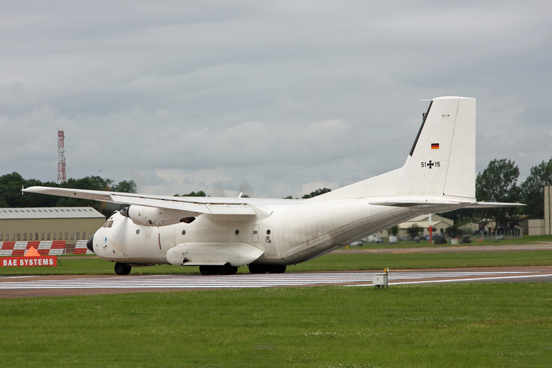51 15 Transall C160D (RAF Fairford) German Air Force