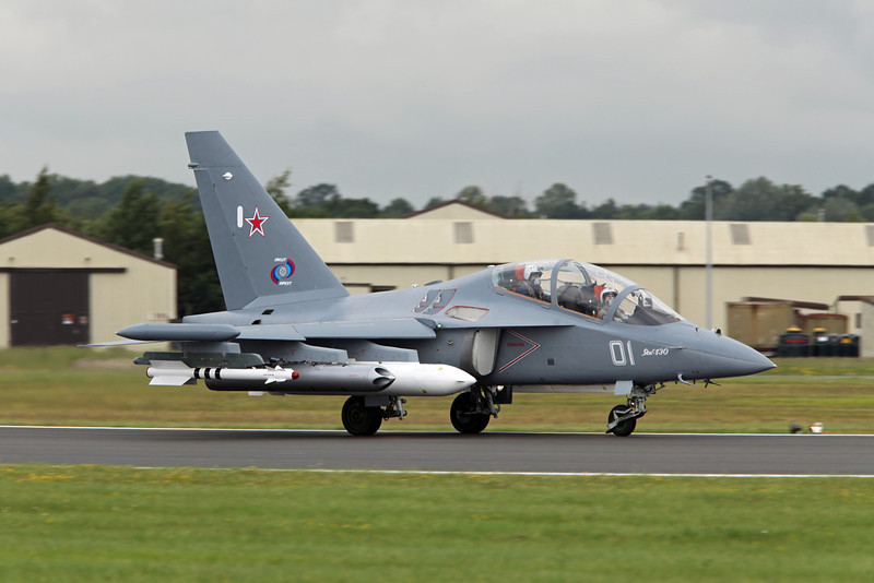 130 Yakovlev Yak-130 'Mitten' (RAF Fairford) Irkut Corporation