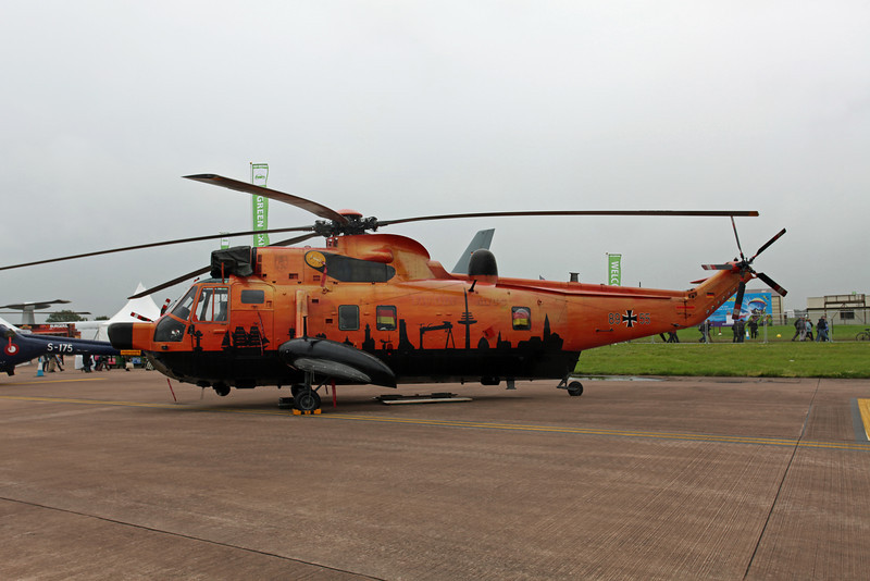 89 55 Westland SeaKing MK41 (RAF Fairford) Germany Navy MFG5