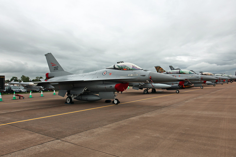 292 Mcdonnell Douglas F-16AM 'Fighting Falcon' (RAF Fairford) Royal Norwegian Air Force