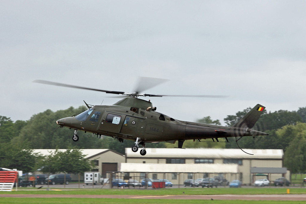 H-44 Agusta 109 (RAF Fairford) Belgian Air Component