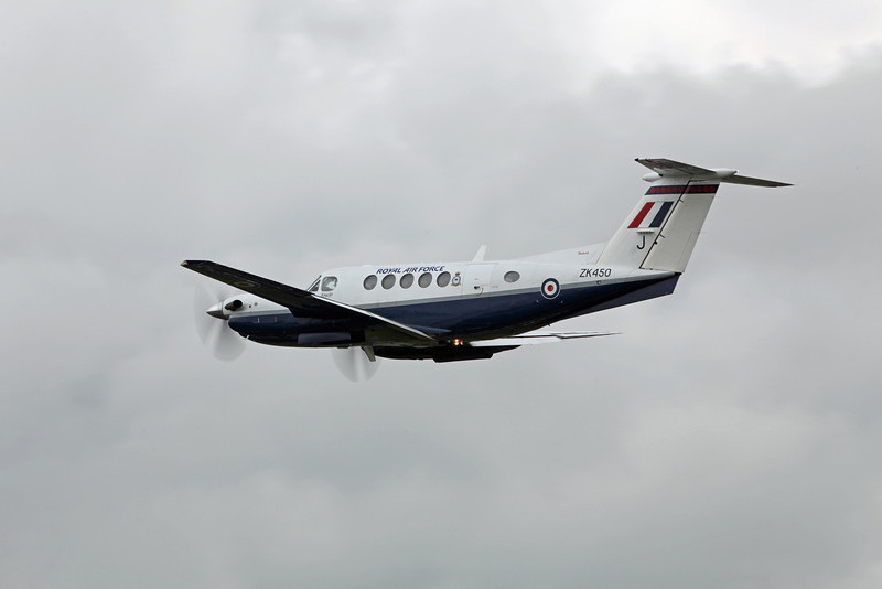 ZK450 Beech B200 Super King Air (RAF Fairford) Royal Air Force