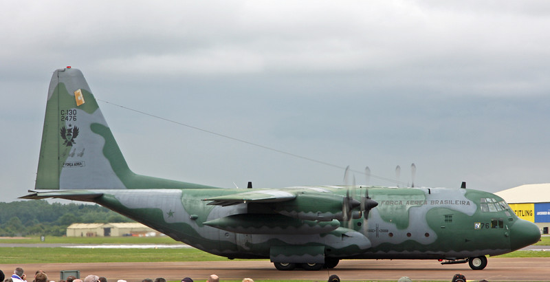 2476 Lockheed C-130M 'Hercules' (RAF Fairford) Forca Aerea Brasileira V (Brazilian Air Force) [1]