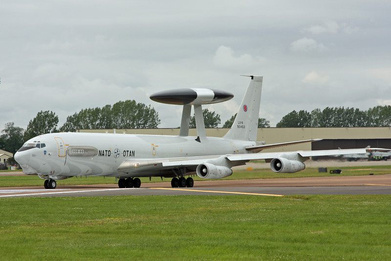 LX-N90453 E-3A (B707-300) NATO Airborne Early Warning & Control Force (NAEW&CF) [1]