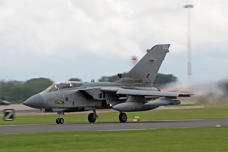 ZA369:003 Tornado GR 4 (RAF Fairford) Royal Air Force