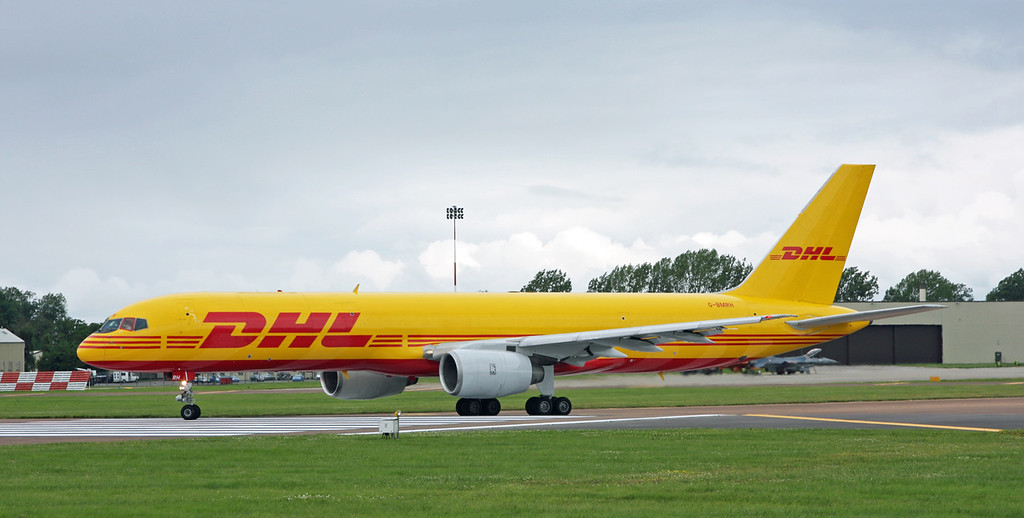 G-BMRH Boeing B757-236 (RAF Fairford) DHL Air Limited