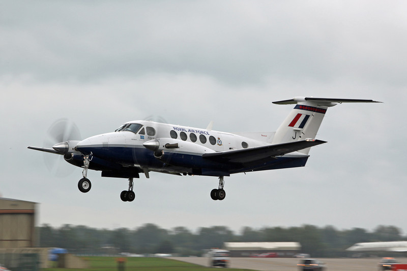 ZK450 Beech B200 Super King Air (RAF Fairford) Royal Air Force [1]