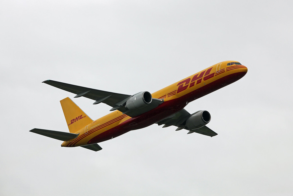 G-BMRJ BOEING B757-236 'Special Freighter' (RAF Fairford) DHL Air Ltd