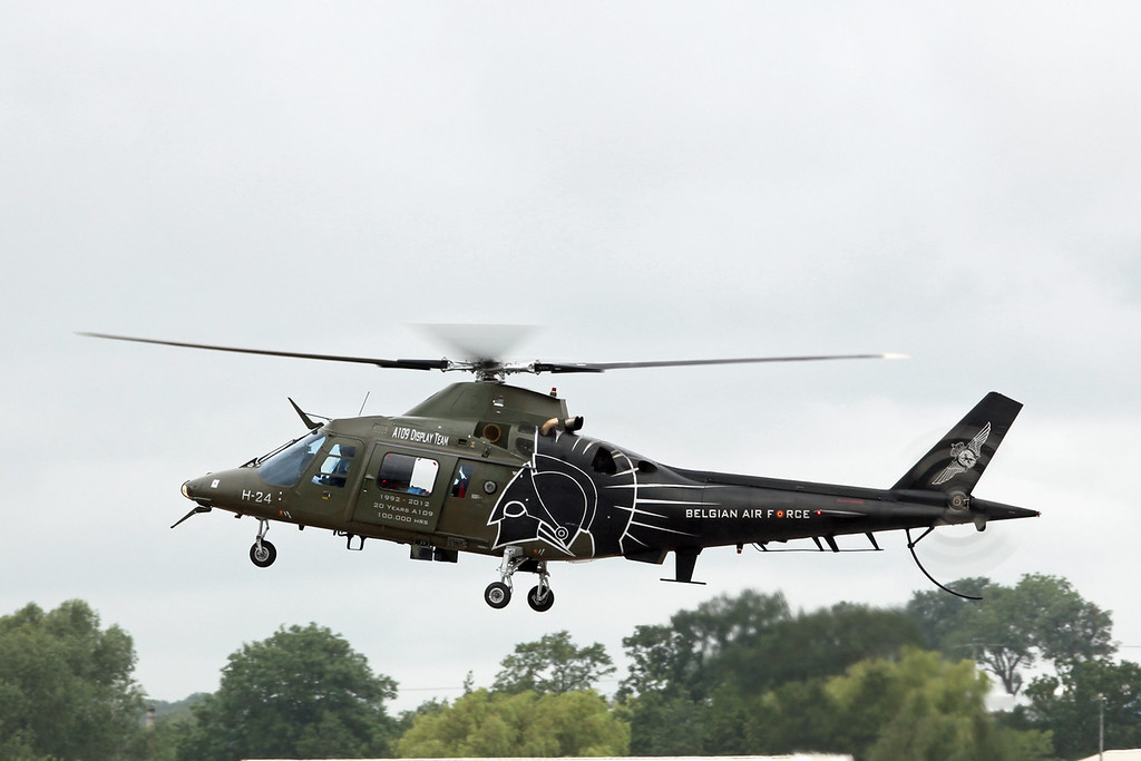 H-24 Agusta 109 (RAF Fairford) Belgian Air Component