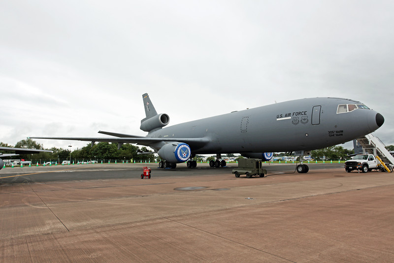 87-0118 McDonnell Douglas KC-10A Extender (RAF Fairford) USAF Air Mobility Command