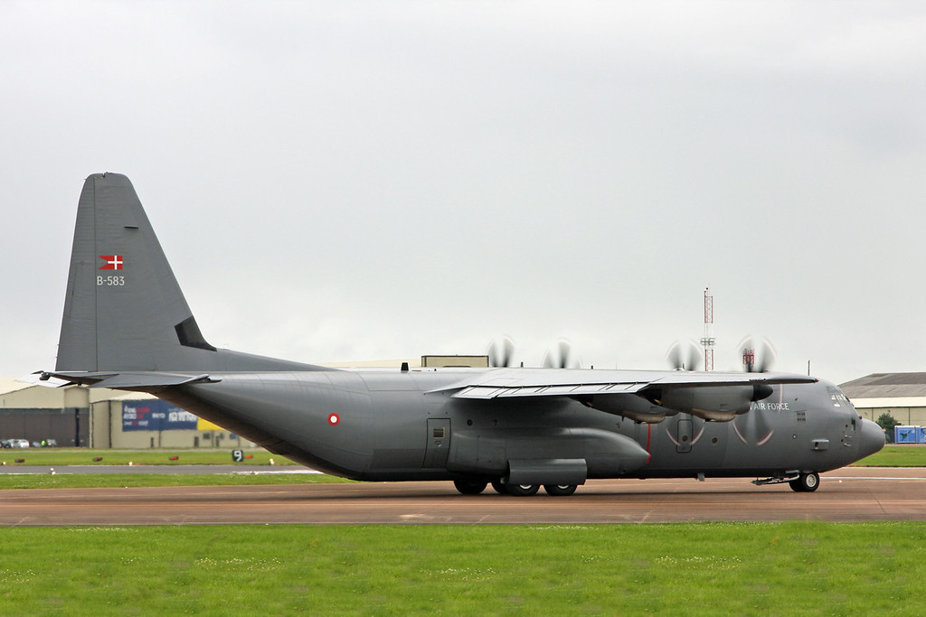 B-583 Lockheed C-130J 'Hercules' (RAF Fairford) Royal Danish Air Force