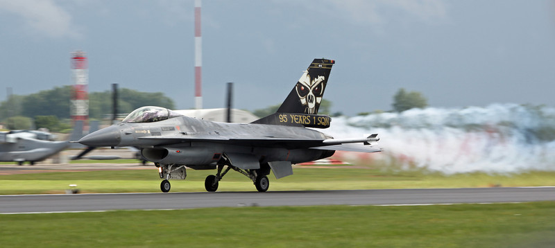 FA-121 General Dynamics F-16AM 'Fighting Falcon' (RAF Fairford) Belgian Air Force (95 years 1 SQD) [1]