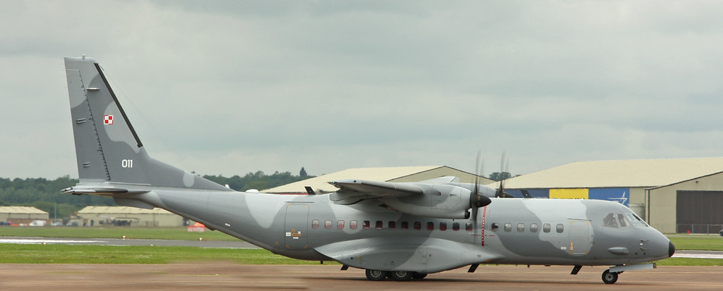 011 CASA CN-295 (RAF Fairford) Polish Air Force 13 eltr [1]