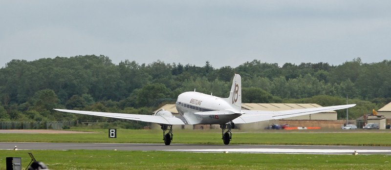 HB-IRJ Douglas DC-3 'Dakota' (RAF Fairford) Breitling:Super Constellation Flyers Association [2]