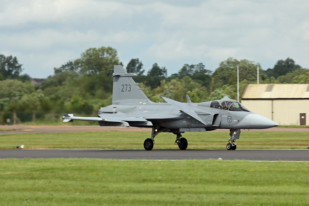273 SAAB Gripen JAS-39C (RAF Fairford) Swedish Air Force