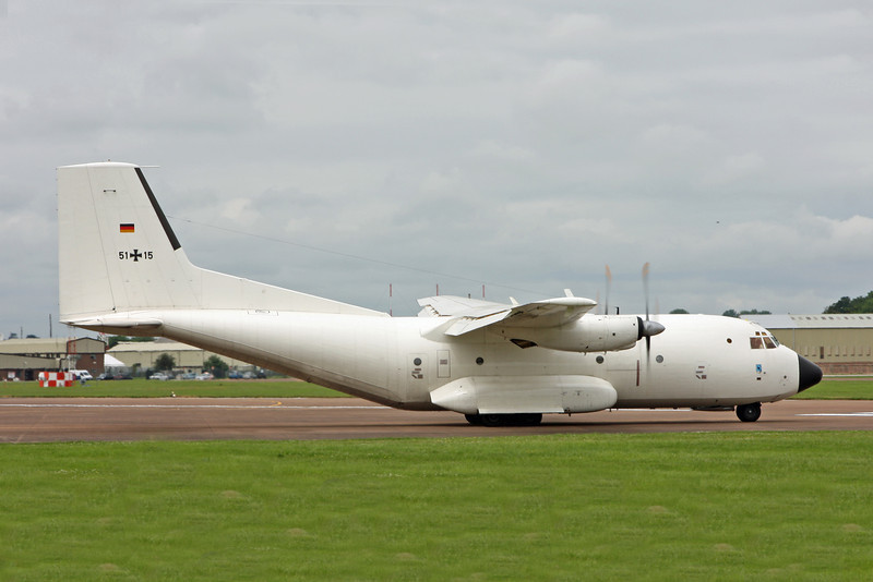 51 15 Transall C160D (RAF Fairford) German Air Force [1]