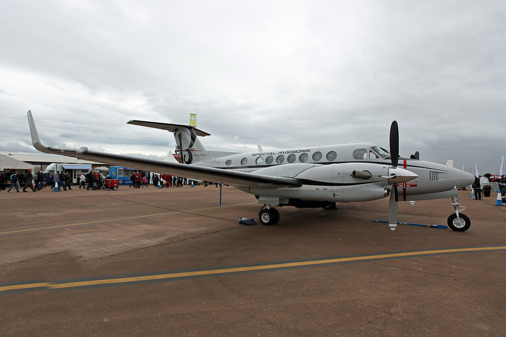 N1459 Hawker Beechcraft B300 King Air 350 (RAF Fairford) Hawker Beechcraft Special Missions Demonstrator