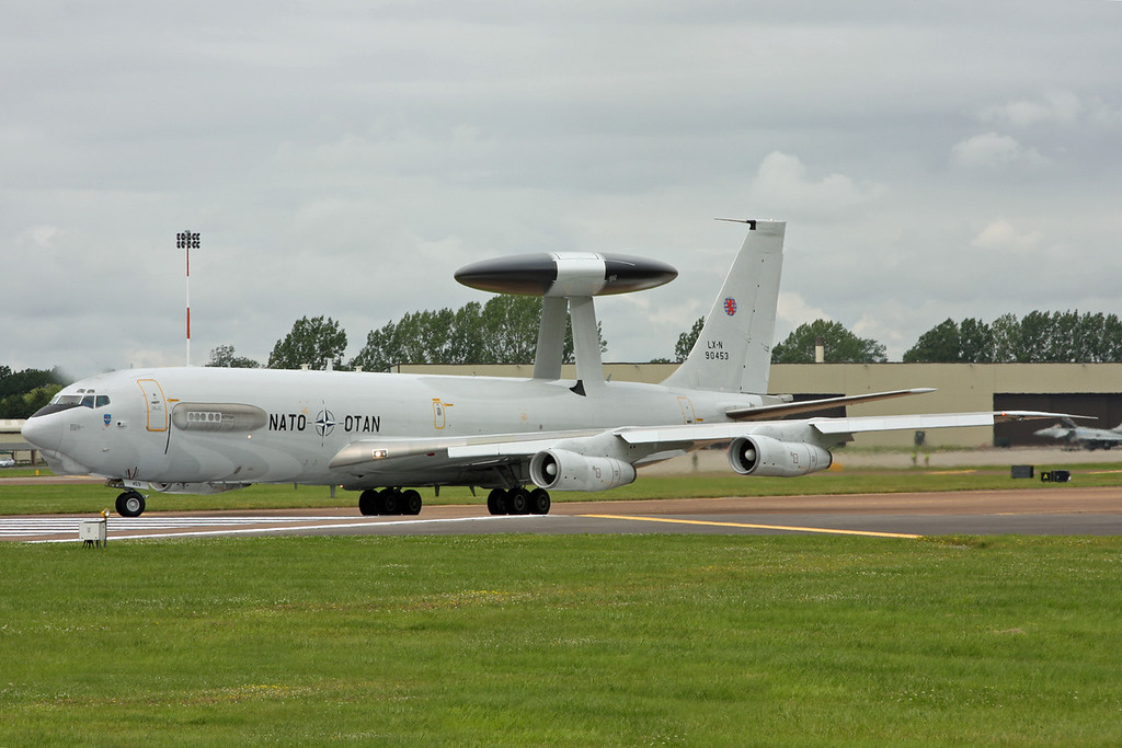 LX-N90453 E-3A (B707-300) NATO Airborne Early Warning & Control Force (NAEW&CF) [2]