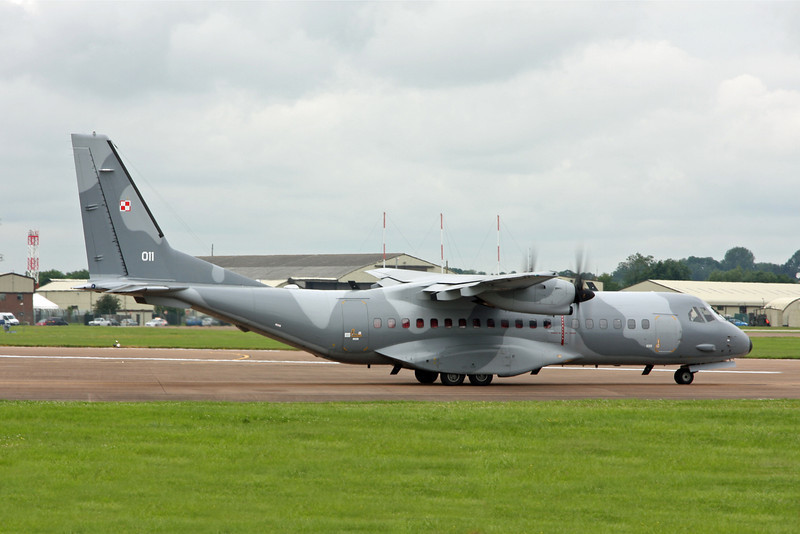 011 CASA CN-295 (RAF Fairford) Polish Air Force 13 eltr
