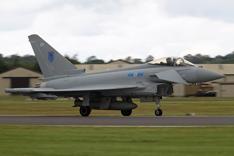 ZK333:EH BAe Typhoon (RAF Fairford) Royal Air Force 6SQN [3]
