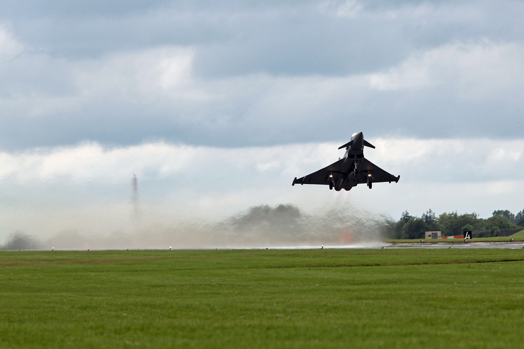 ZK333:EH BAe Typhoon (RAF Fairford) Royal Air Force 6SQN