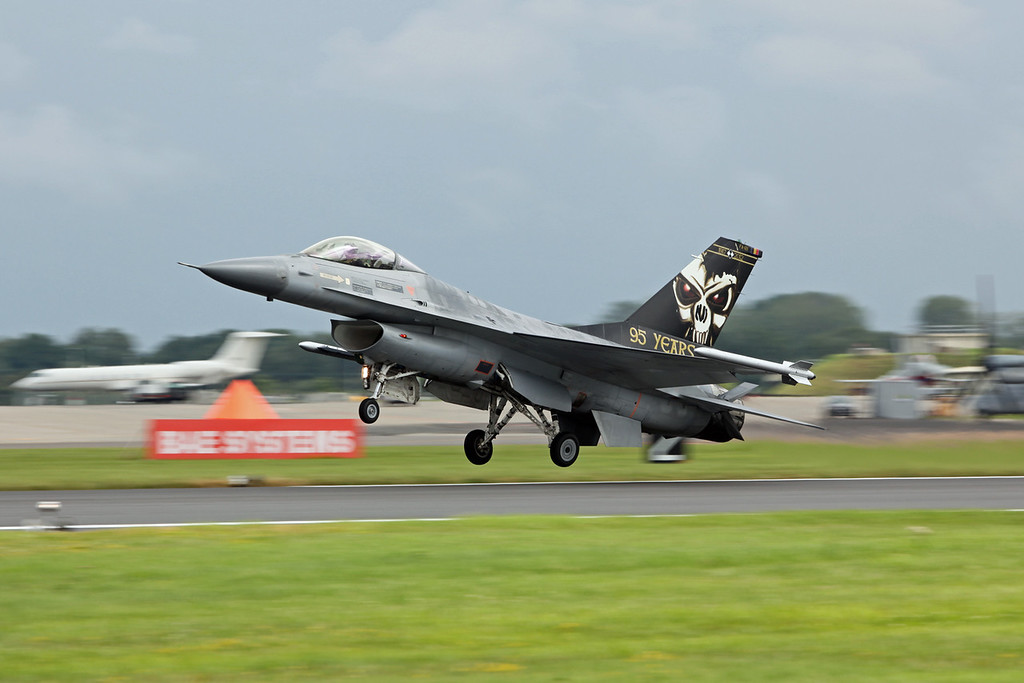 FA-121 General Dynamics F-16AM 'Fighting Falcon' (RAF Fairford) Belgian Air Force