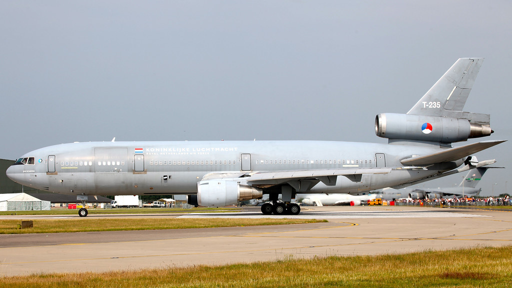 T-235 Netherlands Air Force McDonnell Douglas KDC-10-30CF (Waddington Airshow 2011)