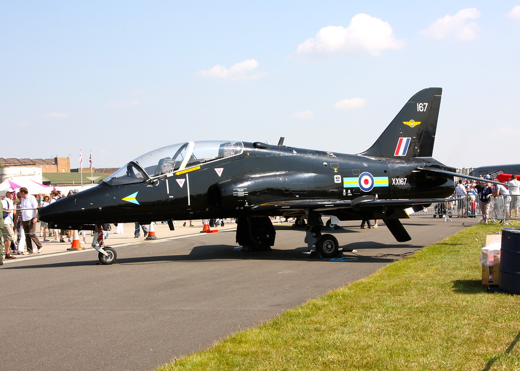 XX167 BAE Systems Hawk T1W, Royal Air Force (Waddington Airshow 2011)