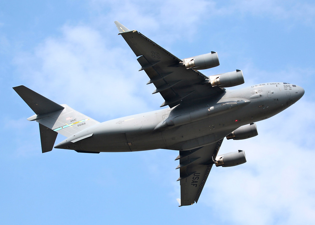 66166 McDonnell-Douglas C-17A Globemaster III (Waddington Airshow 2011)