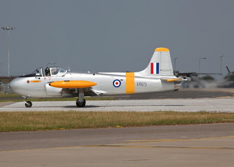 XR673 (G-BXLO) Jet Provost T4 (Waddington Airshow 2011)