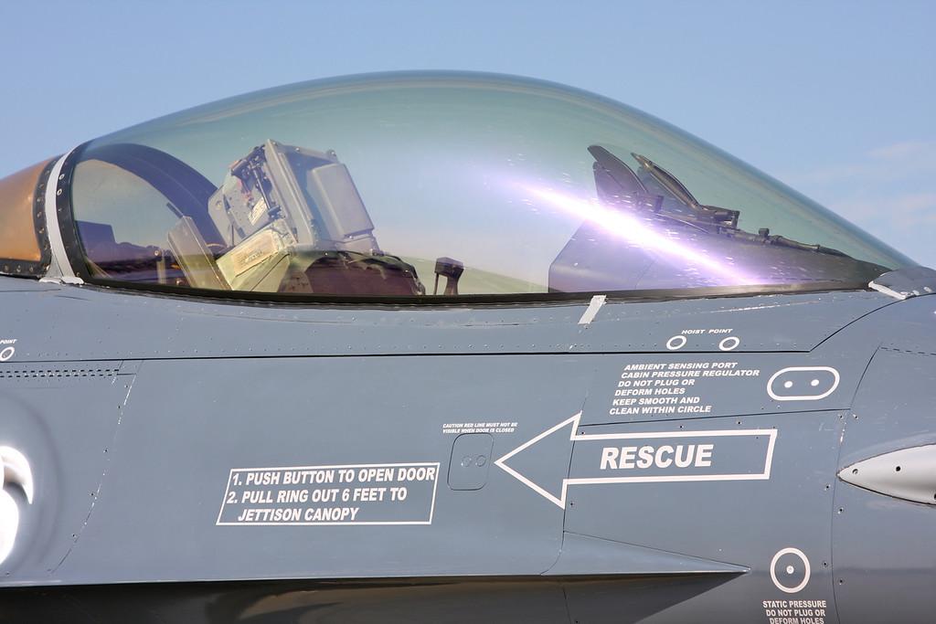 FA-87 General Dynamics F-16AM Fighting Falcon (Waddington Airshow 2011)