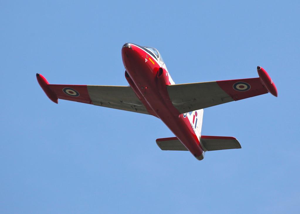 XW324 / U Jet Provost T5B, Royal Air Force (Waddington Airshow 2011)