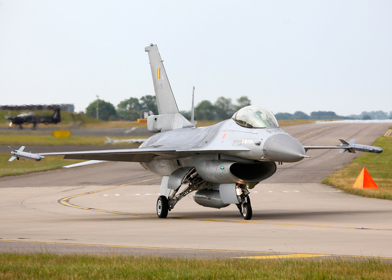 FA-95 Lockheed F-16AM Fighting Falcon, Belgian Air Force (Waddington Airshow 2011)