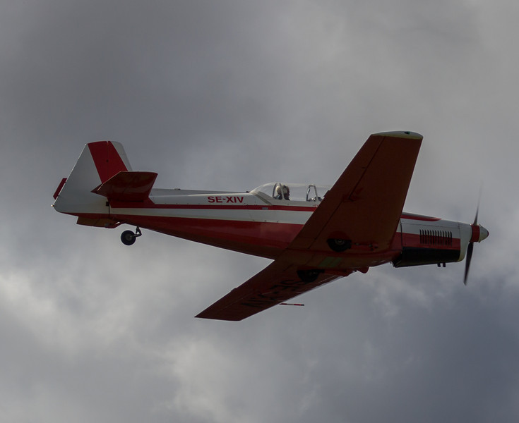 Aircraft: SZlin Z-526F Trener Master, SE-XIV