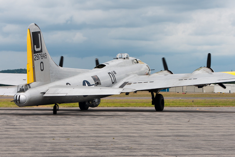 One of fourteen remaining airworthy frames, this B-17 bomber is heading out for a scenic flight above the North Shore of Massachusetts. For the cool cost of $430, you could be on board too.