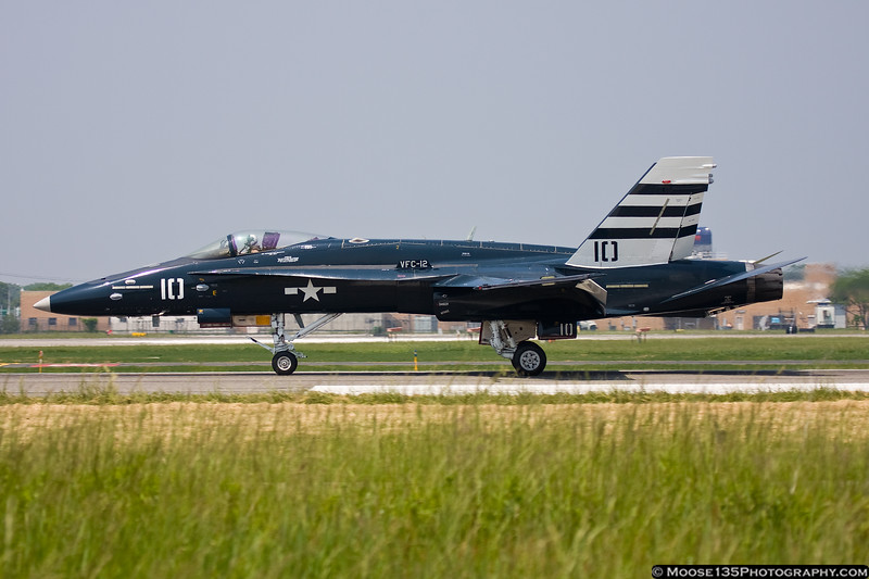 F/A-18C Hornet in Centennial of Naval Aviation commemorative colors
