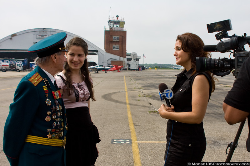 Colonel Edelman is joined by his granddaughter for his interview with Michelle Charlesworth.