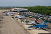 The AAM flight line is a crowded place during air show weekend.