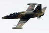 An L-39 Albatross flies by