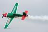 Michael Goulian flies by.