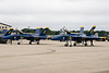 Blue Angels on the flight line.