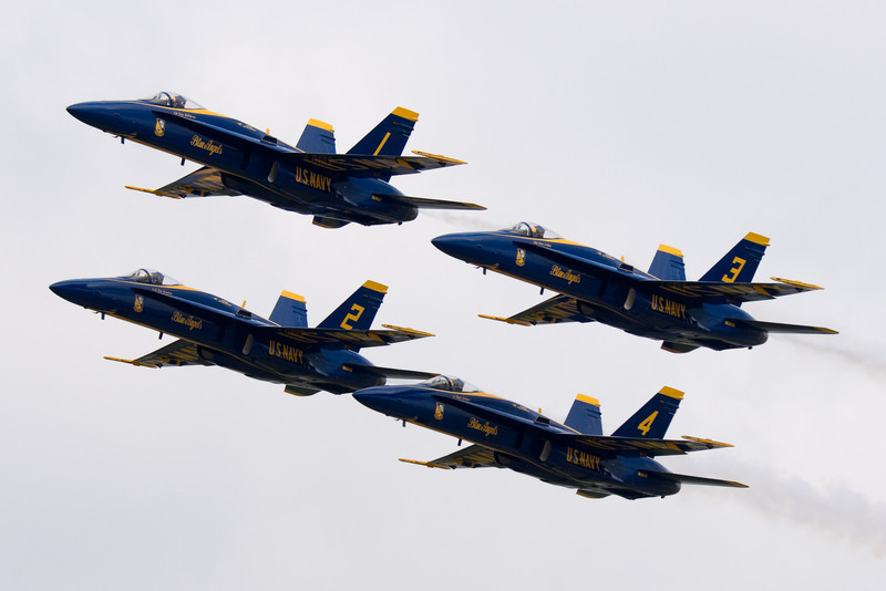 Another formation flyby with very close tolerance.