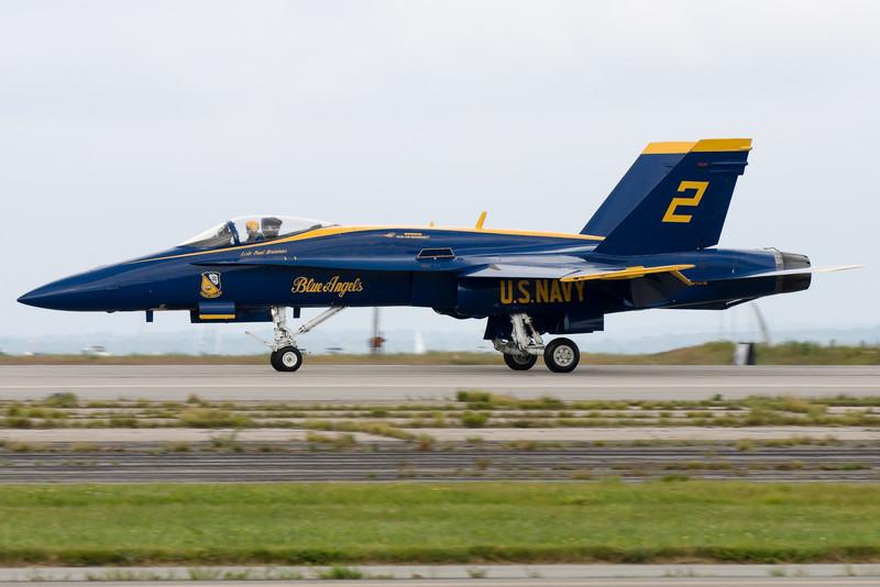 Blue Angel 2 returning to base.