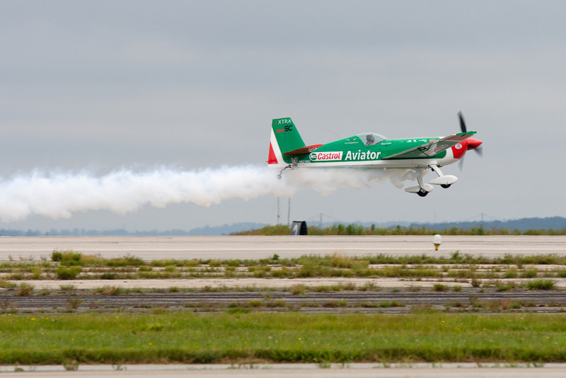 Mike Goulian takes off.