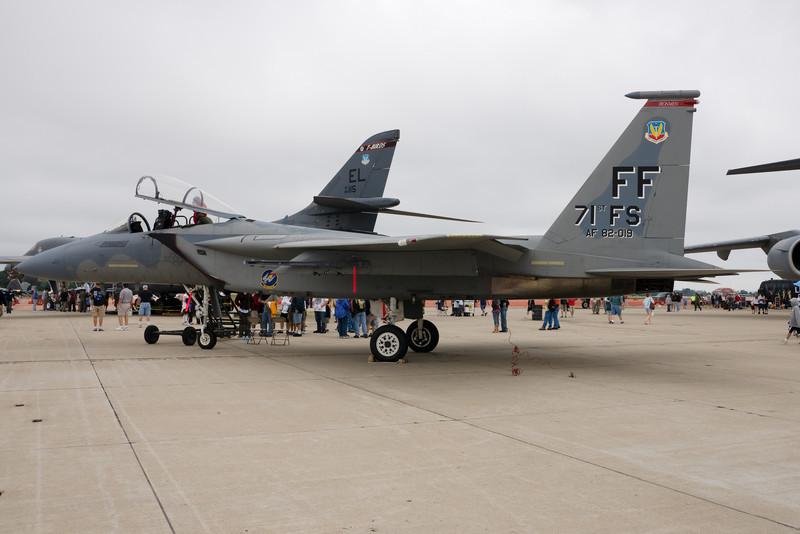 F15 Eagle static.