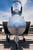 The nose of an F-15.
