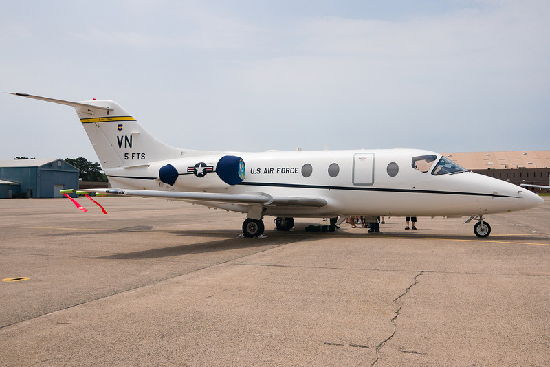 A Jayhawk from the 32nd FTS at Vance AFB stops by Space and Aviation Day.