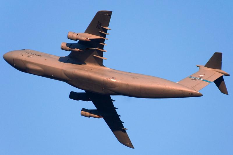 C-5 Galaxy in flight.
