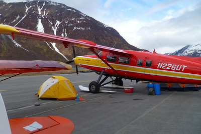 Paul Claus' Turbo Otter.  Paul is the owner of Ultima Thule outfitters.