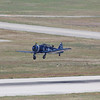T-6 trainer taking off at BHM